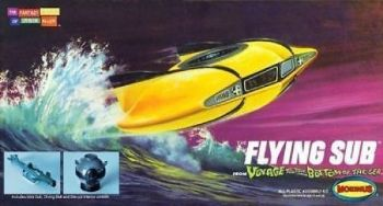 VOYAGE TO THE BOTTOM OF THE SEA MINI FLYING SUB MOEBIUS MODELS
